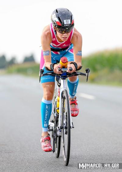 Der richtige Raddruck fehlte (Foto: Marcel Hilger)